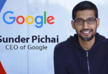 Sundar pichai from Google