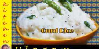 Curd Rice in Tamil